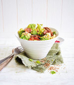 Beef and romanesco bowl (low carb)