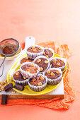 Chocolate Hazelnut Flourless Muffins