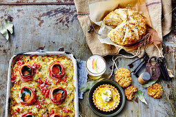 Dishes for the Anzac Day (Australia)