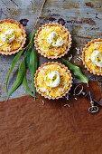 Pineapple coconut tarts (Anzac Day, Australia)