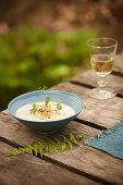Cream Potato and Corn Soup