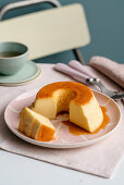 Condensed milk and Salted Caramel Pudding
