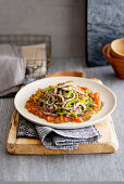 Sweet Pepper and Rosemary Stew