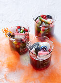 Monster Jelly Cups for Halloween