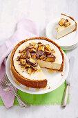 Honey Chai Cheesecake