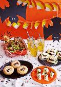 Scary Sleepover Buffet for Halloween