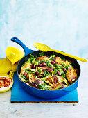 Chicken Tagine (One pan wonder)