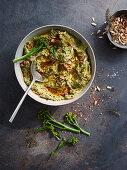 Broccoli and feta dip
