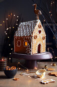 A gingerbread house for gifting at Christmas