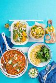 Four super-fast meals