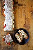Chicken cutlet sandwich (USA)