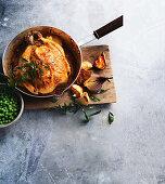 Tandoori-style roast chicken