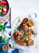 Lemon andhHerb barbecued Chicken