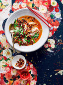 Dan Dan noodles - Minced meat with spicy sauce