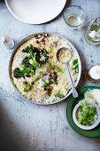 Broccolini and Parmesan Risotto
