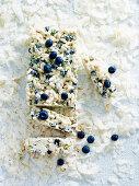 Blueberry Bubble Slice