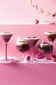 Espresso-Martini-Trifles zu Weihnachten