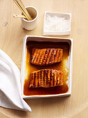 Teriyaki Lachs vom Grill