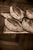 Alpine herb bread