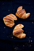 Three croissants