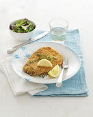 Capocollo Cutlets with Sesame Seeds