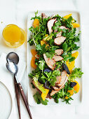 Pork, Orange and Coriander Salad