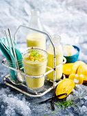 Mango and Almond Smoothie