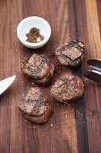 Grilled beef fillet with Szechuan pepper
