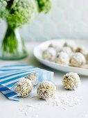 Salted Maple-Almond Balls