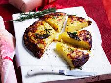 Brandy Butter Potato cake
