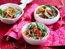 Spiralised Asian Salad