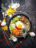 Bibimbap (Reisgericht, Korea)