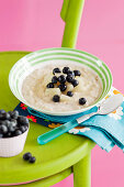 Porridge with Pear Compote