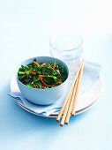 Stir-Fried Chilli Garlic Spinach