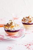 Meringue pudding