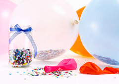 Party Decorations, Balloons, Confetti