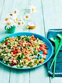 Cauliflower and parsley salad