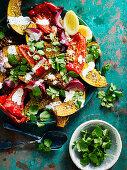 Dukkah Roasted Pumpkin Salad