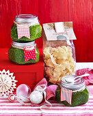 Basil and spinach pesto (Homemade gift)