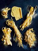 Various hand made pasta