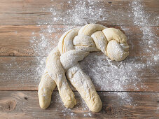 A bread braid