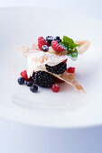 Berry millefeuille
