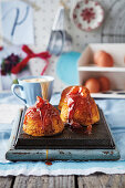 Steamed treacle pudding (England)