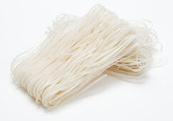 Oriental wide rice noodles