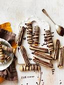 Nutty Meringue Sticks