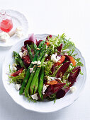 Beetroot, Asparagus and Orange Salad