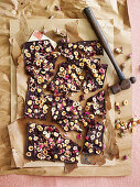 Sugar-Free Chocolate Turkish Delight Bark