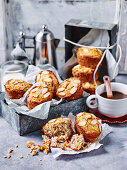 Sugar-free Apple and Almond Friands