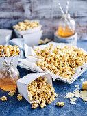 Cheesy Cajun Popcorn