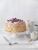 Berry Puff Cheesecake